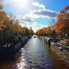 Wat een herfst hè! #Autumn #herfst #Amsterdam #gramthedam #igersamsterdam  #canals #winteriscoming