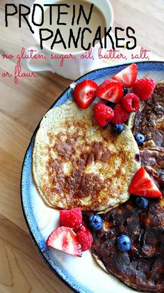 Early Morning Healthy Protein Pancakes – Simply Taralynn