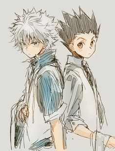 [Hunter X Hunter] Killua Zoldych and Gon Freecss