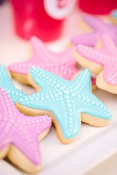 Starfish cookies
