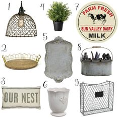 Today I'm excited to share 9 amazing farmhouse finds, all of which are under $50. As you knowMother's Day is just around the corner. And that means it's time for me to sit down and browseonlinefor a few gift ideas to give to my husband. Does anyone else do this for holidays or birthdays? Sure...Continue Reading