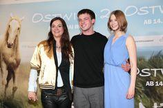 © 2015 Constantin Film Verleih GmbH Regisseurin Katja von Garnier, Jannis Niewoehner und Hanna Binke Deutschlandpremiere von Ostwind 2 im Mathäser Kino in München am 03.05.2015