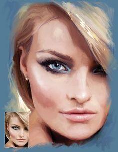 Using the Mixer Brush tool in Photoshop CS5 and CS6