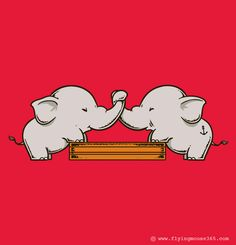 Trunk Wrestling by Flying Mouse