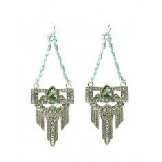 Bargain Basement Tribal Dangle Earrings