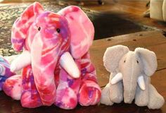 How to re-size a toy sewing pattern - learn how to make extra small or extra large softies from the same toy sewing pattern!