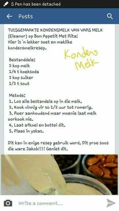 Points You Should Know Prior To Obtaining Bouquets Kondensmelk My Recipes, Sweet Recipes, Cake Recipes, Cooking Recipes, Favorite Recipes, Curry Recipes, Custard Recipes, Dessert Recipes, Homemade Condensed Milk
