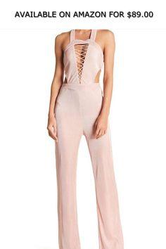 b7109d204dde Wow Couture Halter Pleat Jumpsuit