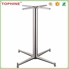 Outdoor furniture parts top quality stainless steel pedestal table base