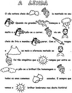 são martinho                                                                                                                                                                                 Mais Yoga For Kids, 4 Kids, Diy For Kids, Cool Kids, Crafts For Kids, Catholic Crafts, Autumn Crafts, Writing Activities, School Days