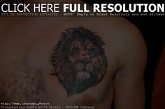 Image issue du site Web http://www.tatouage.photos/wp-content/uploads/2014/10/joli-tatouage-lion-omoplate.jpg