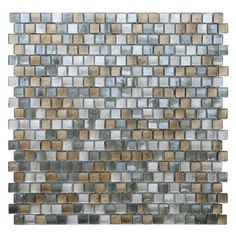 Shop for Opal Grey and Gold Glass Mosaic Tiles (Pack of 10). Get free delivery at Overstock.com - Your Online Home Improvement Shop! Get 5% in rewards with Club O!