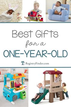 It seems like just yesterday you were holding a tiny bundle of joy, and now your baby is turning one! Here is a list of gifts we love for a one year old. 1st Birthday Presents For Boys, Best First Birthday Gifts, One Year Birthday, Baby 1st Birthday, First Birthdays, 1st Birthday Present Girl, Birthday Photos, One Year Old Gift Ideas, Toys For 1 Year Old