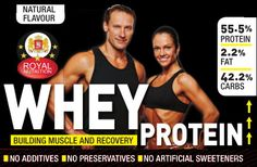ROYAL NUTRITION  WHEY PROTEIN    (GMO Free) #wheyproteinpowder #proteinpowder #whey #gmofree Whey Protein Powder, Natural Flavors, Build Muscle, Tank Man, Nutrition, Tea, Muscle Structure, Muscle Building, Teas