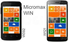 Micromax introduces two Windows 8.1 Phone: Canvas Win W092 and Canvas Win W121 | Techno Trigger