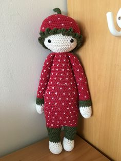 Lalylala doll - Strawberry girl