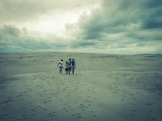 Outer Banks Sand Dunes Friends Pt.1 8x10 Photograph