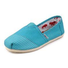 bbbbbbbbbbbbbbbbbbbbbbbbbb New Style Toms women's shoes Wave point blue
