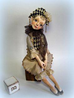 vendu. poupée de collection Tourino poupee d'art OOAK