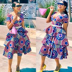 latest african fashion look 821 Short African Dresses, Ankara Short Gown Styles, African Print Dresses, African Fashion Ankara, Latest African Fashion Dresses, African Print Fashion, Chitenge Dresses, Chitenge Outfits, South African Traditional Dresses