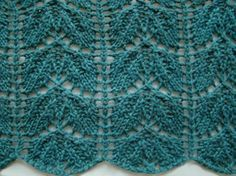 Beech Leaf Lace Pattern