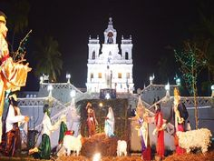 Most Popular Churches in Goa and Cruise Party