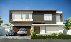 900 sqm Contemporary Residence by Galleria Designs (Renderings by Furqn sheikh)- 2 kanal House |