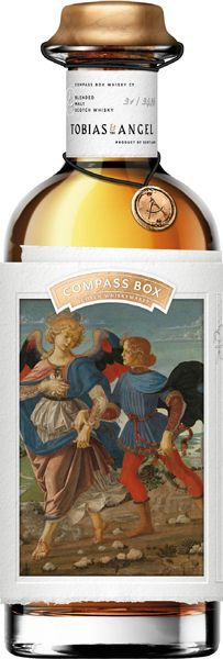 Compass Box Tobias & The Angel Blended Malt Whisky - Clynelish and Caol Ila - Blended Whisky, Malt Whisky, Tobias, Bottle, Box, Single Malt Whisky, Snare Drum, Flask, Boxes