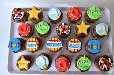 BlueBay Desserts - Vancouver, B.C.: Toy Story Cupcakes and a New Word