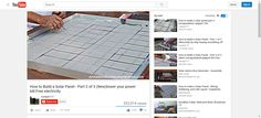 How to Build a Solar Panel - Part 2 of 3 (New)lower your power bill.Free electricity - YouTube