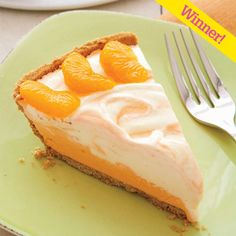 Orange Creamsicle Pie - Orange Dessert - Woman's Day