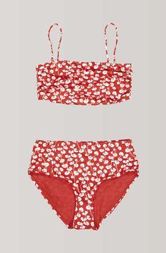 Clover Swimwear Bikini, Fiery Red