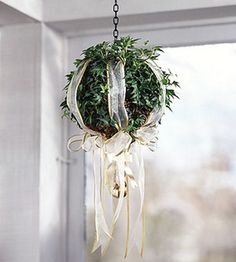 #Mistletoe ball