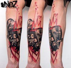 @dynoz/on the road@done @eisenherz.tattoo.studio.magdeburg.germany.