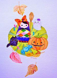 Halloween Poriana! Fruit maiden Picture |