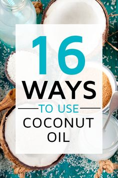 Have you heard all the rave about Coconut Oil? Ever wonder what celebs like Kylie or Kendall use? Maybe you've heard a beauty tip or about it's health benefits? Read our 16 Wise Ways to Use Coconut Oil to have you feeling beautiful, smart & natural in no time! #health