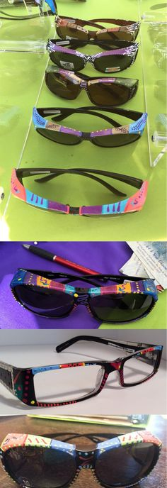 55e01a541ab 7 Best Hand-Painted Solar Shield  Fits Over  Sunglasses images