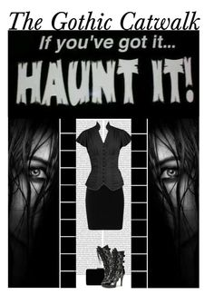 """""""The Gothic Catwalk (13)"""" by irresistible-livingdeadgirl ❤ liked on Polyvore featuring T By Alexander Wang, John Lewis, Funtasma, AlexanderWang, emo, gothic, creepy and TheGothicCatwalk"""
