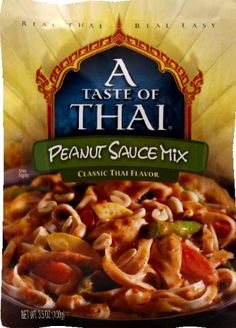A Tast of Thai Peanut Sauce Mix 35 Oz Pack  6 Per Case -- Visit the image link more details. Note:It is affiliate link to Amazon.