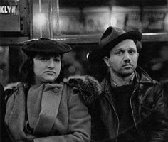 """One of the """"Subway Portraits"""" • Walker Evans.   Evans once said, """"As it happens, you don't see among them the face of a judge or a senator or a bank president. What you do see is at once sobering, startling, and obvious: these are the ladies and gentlemen of the jury."""""""