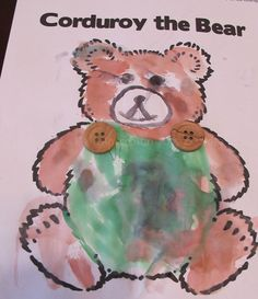 """""""Corduroy"""" the Bear Craft - Life with Captain Fussybuckets"""