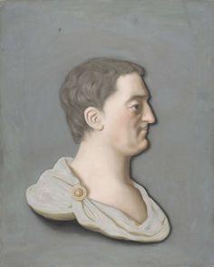 Sir William Ponsonby (later, 2nd Earl of Bessborough). Chalk drawing, by Jean-Etienne Liotard, 1750-60, Rijksmuseum