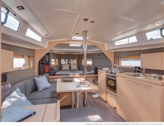 Beneteau Oceanis 38 salon.  She will be on display at the 2013 St. Petersburg Power & Sailboat Show Dec 5-8, 2013 www.MurrayYachtSales.com