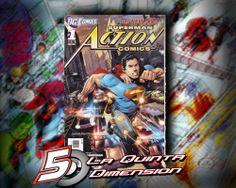 ACTION COMICS # 1  DE LOS NEW 52, EN INGLÉS.  $ 100.00 Para más información, contáctanos en http://www.facebook.com/la5aDimension