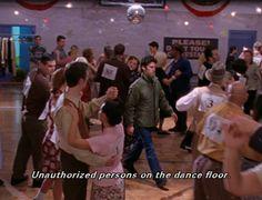 The dance marathon episode!! Love it! Love Jess! Gilmore Girls