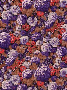 Purple & Rust Floral