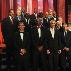 NBA Hall of Fame 2010: 1992 USA Olympic basketball team induction.