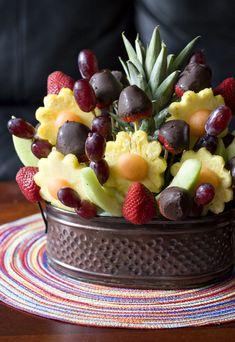 Homemade Fruit arrangement