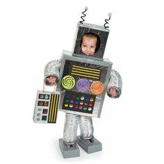Robot Costume - Free-N-Fun Halloween from Oriental Trading  http://www.freefunhalloween.com/halloween-costumes/robot-halloween-costume/#