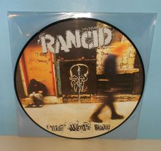 RANCID life won't wait Lp Record PIC DISC Vinyl , limited edition